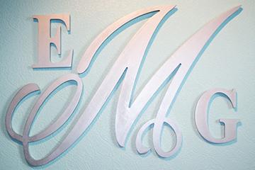 Cut Aluminium Letter